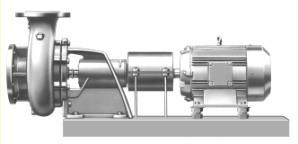 مدل NS پمپ سانتریفیوژ آلویلر allweiler